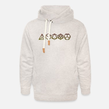 Platonic Solids Platonic Solids - Unisex Shawl Collar Hoodie