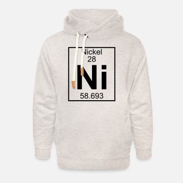 Nickel Element 28 - Ni (nickel) - Full - Unisex Shawl Collar Hoodie