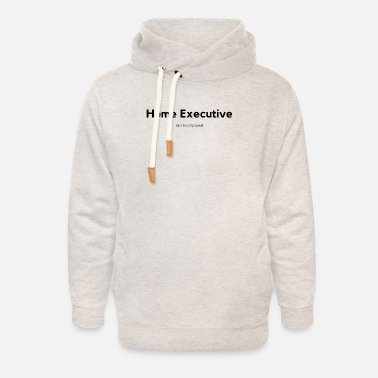 Home Executive Definition (Black) - Unisex Shawl Collar Hoodie