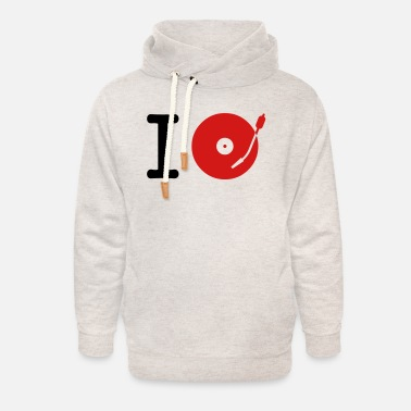 Deejay I dj / play / listen to + your music - Unisex Shawl Collar Hoodie
