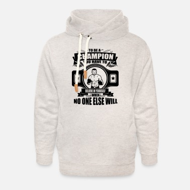 4_champion - believe in yourself_1c - Unisex Shawl Collar Hoodie