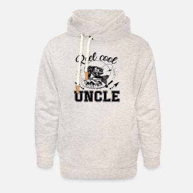 Reel Cool Uncle Fishing Shirt - Unisex Shawl Collar Hoodie