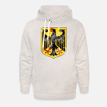 Coat Of Arms Coat of Arms of Germany - Unisex Shawl Collar Hoodie