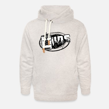 Smoker Ugly Drum Smoker King of BBq - Unisex Shawl Collar Hoodie