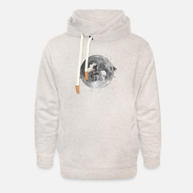 Mare The Mare in the Moon - Unisex Shawl Collar Hoodie