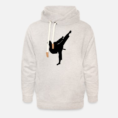 Kicker Kicker (male) - Unisex Shawl Collar Hoodie