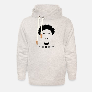 Process the process - Unisex Shawl Collar Hoodie