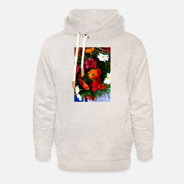Bunch Of Flowers Bunch of flowers - Unisex Shawl Collar Hoodie