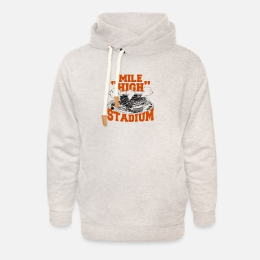 90 Min Stadium - mile high stadium - Unisex Shawl Collar Hoodie