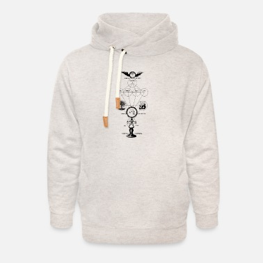 Alchemy The Origins of Alchemy - Unisex Shawl Collar Hoodie