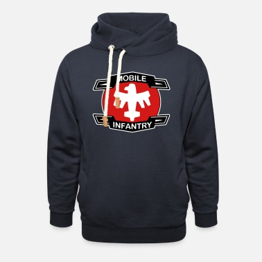 Starship mobile_infantry - Unisex Shawl Collar Hoodie