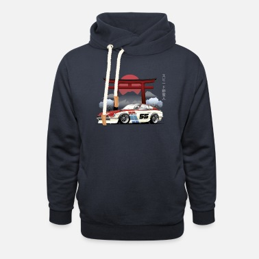 Car and Gate - Shawl Collar Hoodie