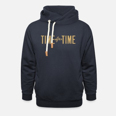 Times Time After Time - Unisex Shawl Collar Hoodie