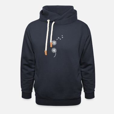 Semicolon Project Suicide Prevention Blowball Dand - Unisex Shawl Collar Hoodie