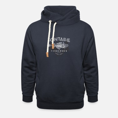 Fishery Fontaine Fisheries - Unisex Shawl Collar Hoodie