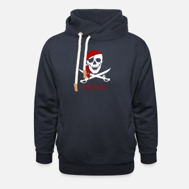 Personalized Pirate Personalized pirate - Unisex Shawl Collar Hoodie