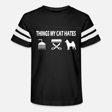 Things My Cat Hates - Kids' Vintage Sport T-Shirt