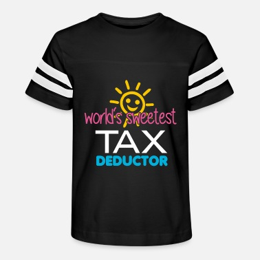 Tax Man Tax Day | Tax Deductor | Funny Tax Design - Kids' Vintage Sport T-Shirt