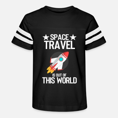 Travel Space travel is not of this world - Kids' Vintage Sport T-Shirt