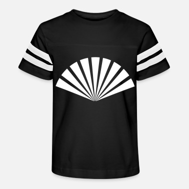 Decorative Fan hand-held fan - Kids' Vintage Sport T-Shirt
