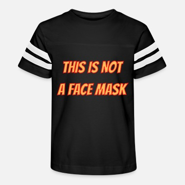 Face-masks This is not a face mask - Kids' Vintage Sport T-Shirt