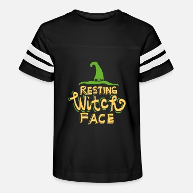 Resting Witch Face - Kids' Vintage Sport T-Shirt