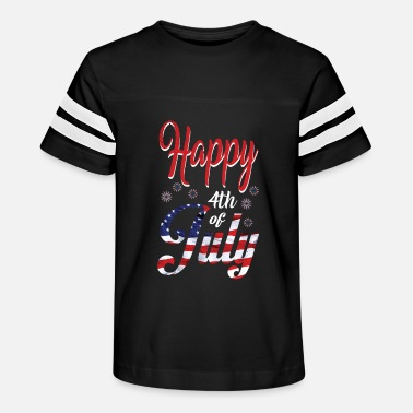 Th Of July $th of July Happy - Kids' Vintage Sport T-Shirt