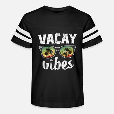 Family Vacation Vintage Vacay Vibes TShirt Kids Hawaii Palm Beach - Kids' Vintage Sport T-Shirt