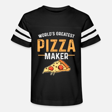 Frozen Pizza Frozen Pizza Baker Pizzeria - Kids' Vintage Sport T-Shirt