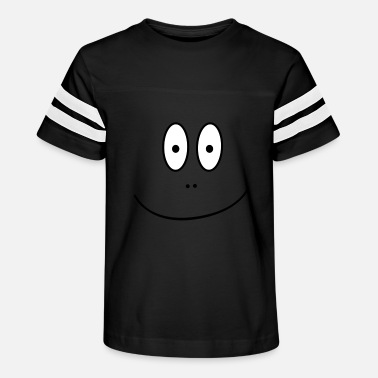 Cartoon Face - Kids' Vintage Sport T-Shirt