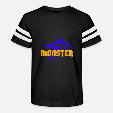 SHARK SEA MONSTER Children Gift Idea - Kids' Vintage Sport T-Shirt