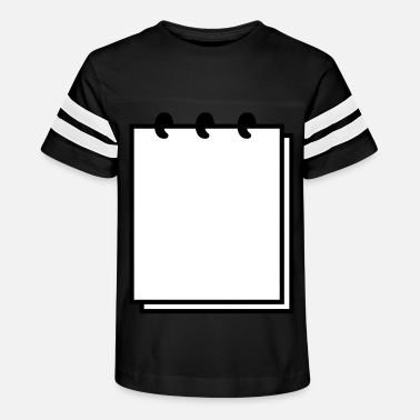 Writable Notebook (use writable flex) - Kids' Vintage Sport T-Shirt