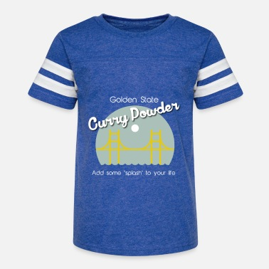Golden State Golden State Curry Powder - Kids' Vintage Sport T-Shirt