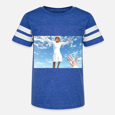 Rosary Ascension of Jesus - Kids' Vintage Sport T-Shirt