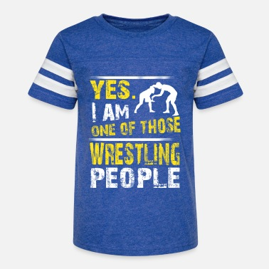 One of those WRESTLING people - Kids' Vintage Sport T-Shirt