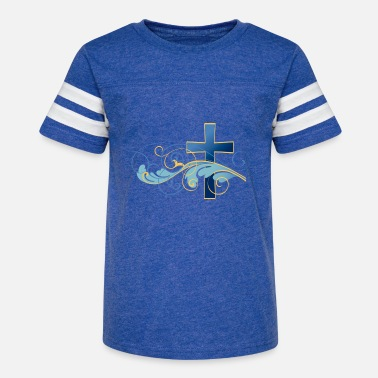 Blue cross - Kids' Vintage Sport T-Shirt