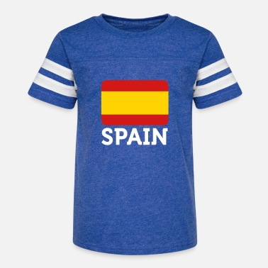 Spain National Flag Of Spain - Kids' Vintage Sport T-Shirt