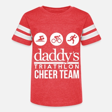 Triathlon triathlon cheer team - Kids' Vintage Sport T-Shirt