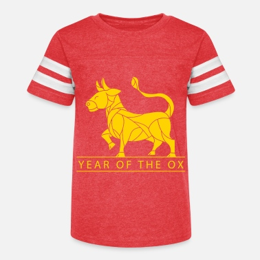 year of the ox - Kids' Vintage Sport T-Shirt