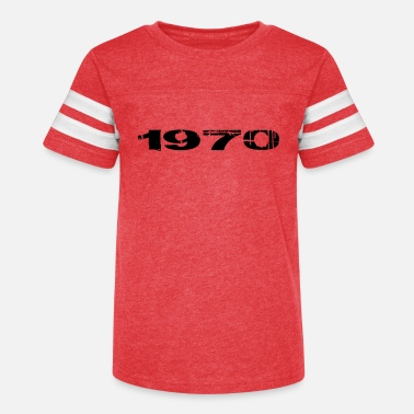 Year Of Birth 1970 year of birth - Kids' Vintage Sport T-Shirt