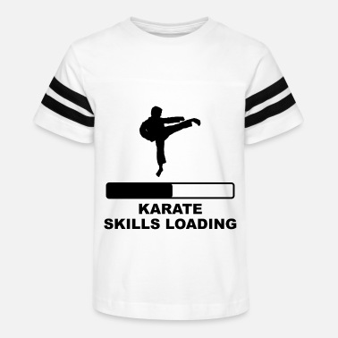 Karate Skills Loading - Kids' Vintage Sport T-Shirt
