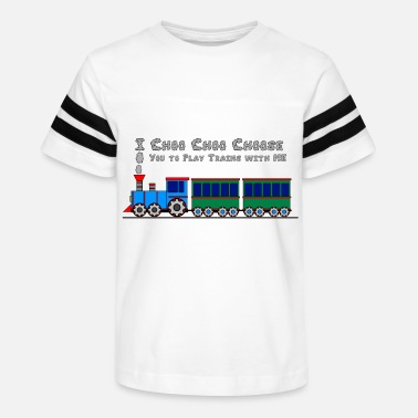 Thomas Choo Choo Toy Train Design for Kids Shirts - Kids' Vintage Sport T-Shirt