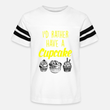 Ice I would rather have a cupcake - Kids' Vintage Sport T-Shirt