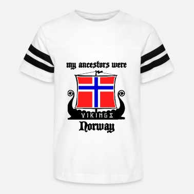 Norway Norway Vikings - Kids' Vintage Sport T-Shirt
