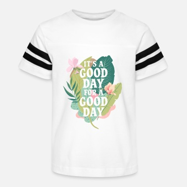 Good Day Floral Good day for a good day - Kids' Vintage Sport T-Shirt