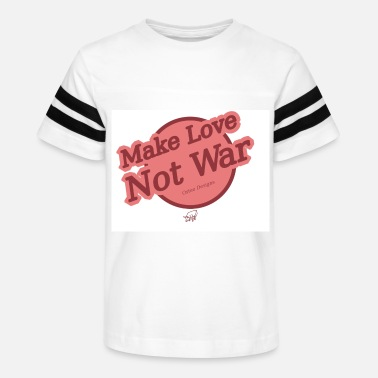 Make love not war - Kids' Vintage Sport T-Shirt