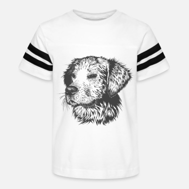 Dogs A man's best friend - Kids' Vintage Sport T-Shirt