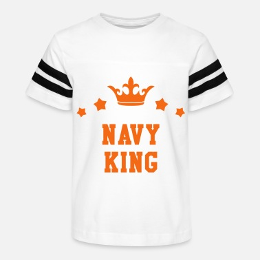 Navy King -Sailing - Boat - Sailor - Kids' Vintage Sport T-Shirt