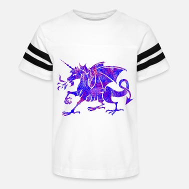 Dragon Unicorn unicorn dragon - Kids' Vintage Sport T-Shirt