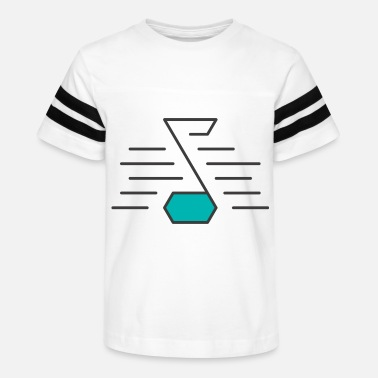 Abstract Music Abstract Music - Kids' Vintage Sport T-Shirt
